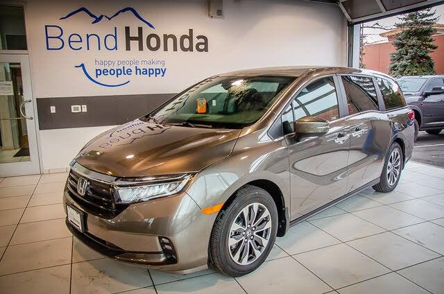 2021 Honda Odyssey EX-L FWD