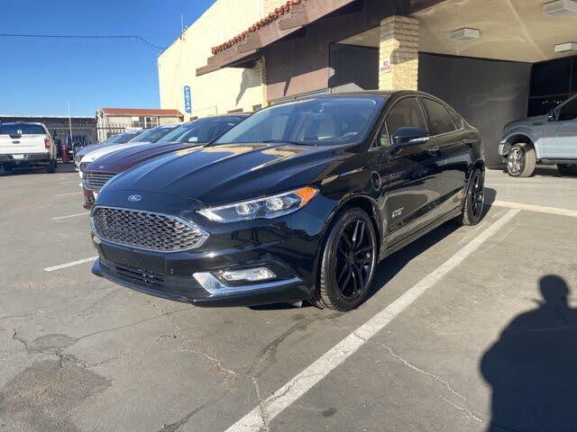 2018 Ford Fusion Energi Platinum