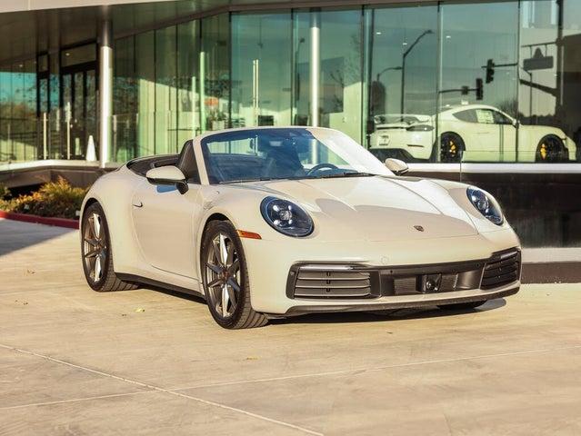 2020 Porsche 911 Carrera Cabriolet RWD