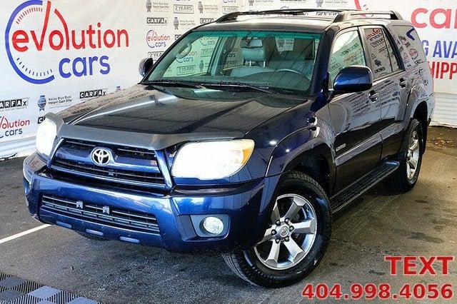2007 Toyota 4Runner V6 4x2 Limited