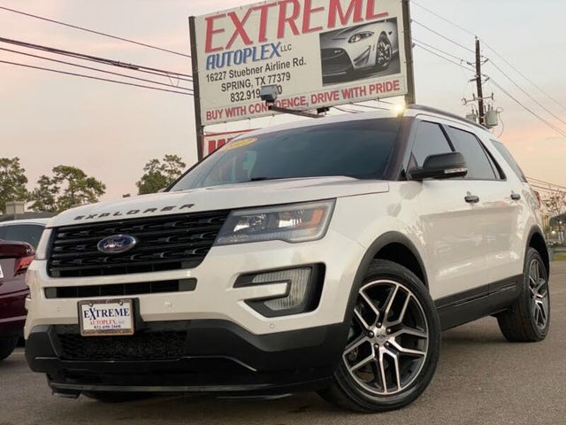 2017 Ford Explorer Sport AWD