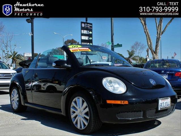 2009 Volkswagen Beetle S Convertible