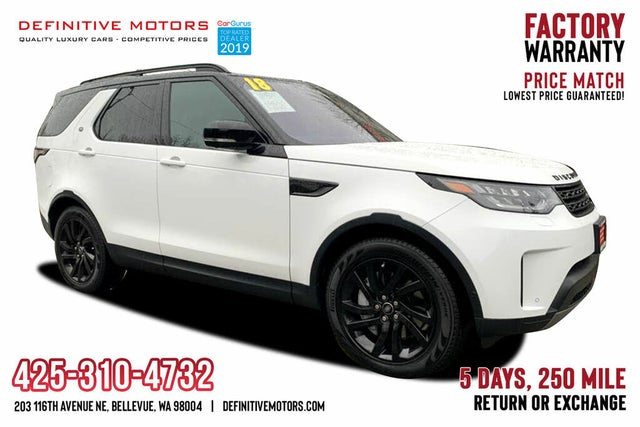2018 Land Rover Discovery Td6 HSE Luxury AWD