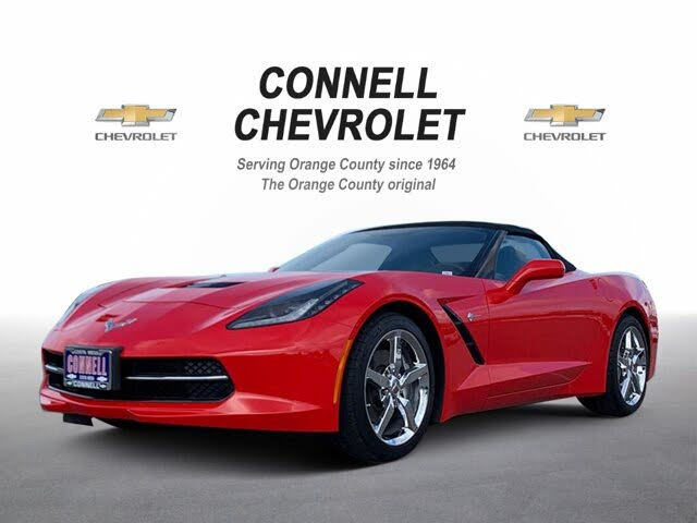 2015 Chevrolet Corvette Stingray 3LT Convertible RWD
