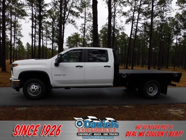 2021 Chevrolet Silverado 3500HD Chassis Work Truck Crew Cab RWD