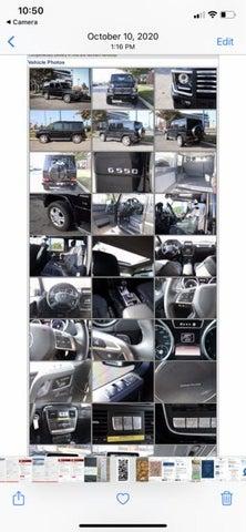 2015 Mercedes-Benz G-Class G 550