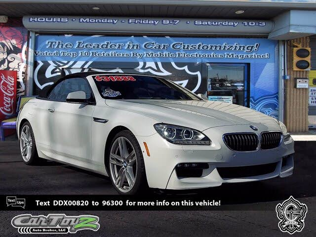 2013 BMW 6 Series 650i xDrive Convertible AWD
