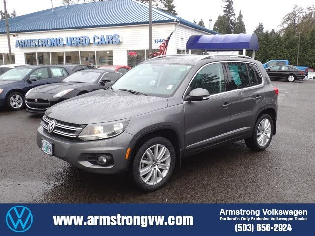 2015 Volkswagen Tiguan SE 4Motion with Appearance