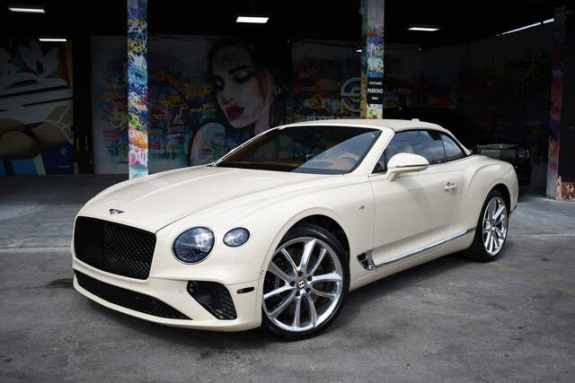 2020 Bentley Continental GT V8 Convertible AWD