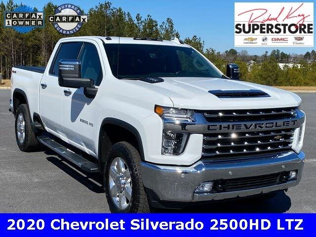 2020 Chevrolet Silverado 2500HD LTZ Crew Cab 4WD