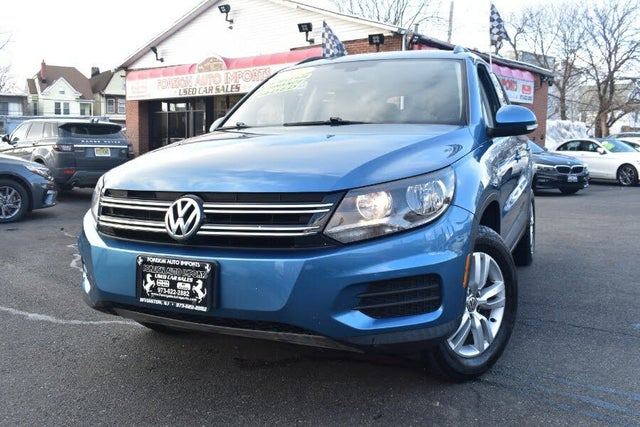 2017 Volkswagen Tiguan S 4Motion AWD