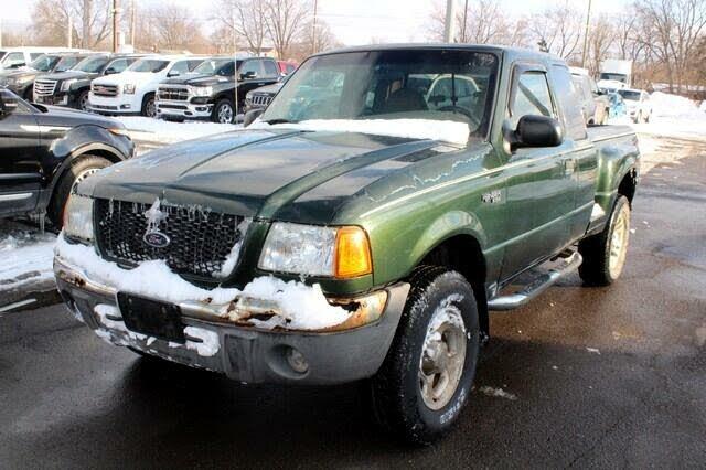 2001 Ford Ranger XL 4 Door SuperCab 4WD