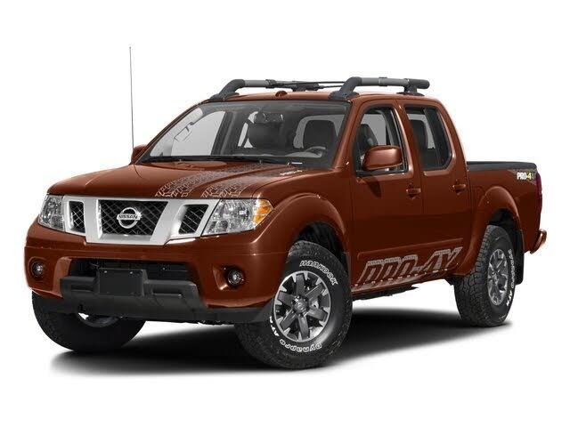 2016 Nissan Frontier PRO-4X Crew Cab 4WD
