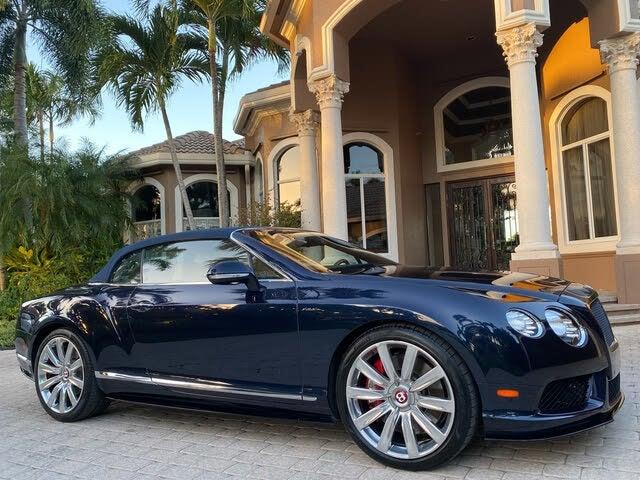 2014 Bentley Continental GTC V8 S AWD