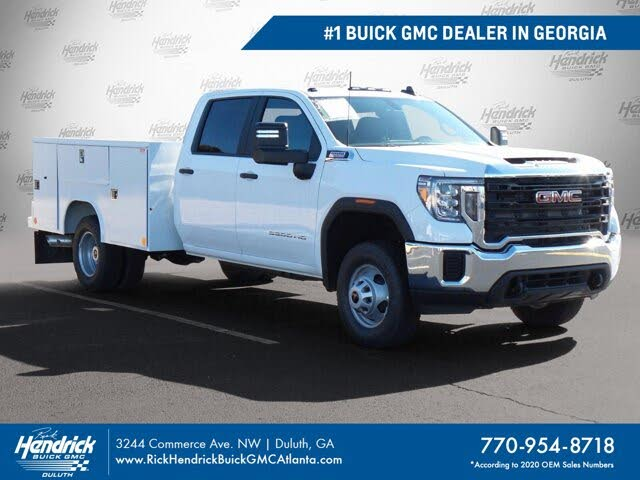 2021 GMC Sierra 3500HD Chassis Crew Cab 4WD