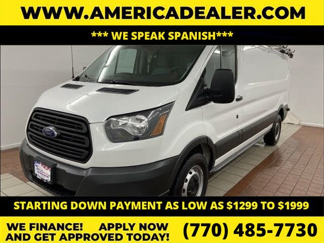 2018 Ford Transit Cargo 350 3dr LWB Low Roof Cargo Van with Sliding Passenger Side Door