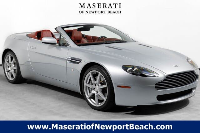 Used 2009 Aston Martin V8 Vantage For Sale Right Now Cargurus