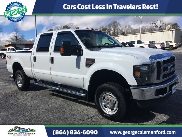 2010 Ford F-350 Super Duty XLT Crew Cab 4WD