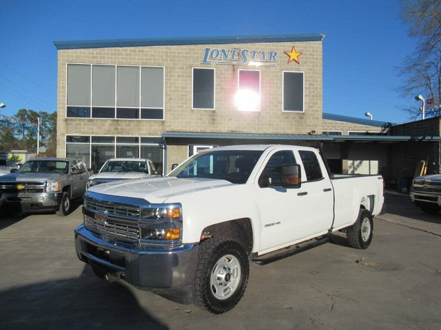 2018 Chevrolet Silverado 2500HD Work Truck Double Cab 4WD