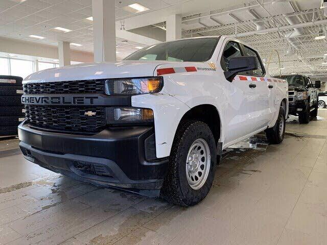 2020 Chevrolet Silverado 1500 Work Truck Crew Cab 4WD