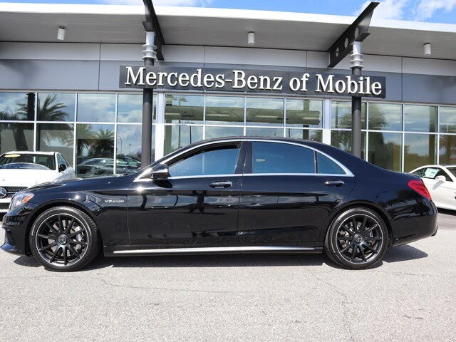 2017 Mercedes-Benz S-Class S AMG 63 Sedan
