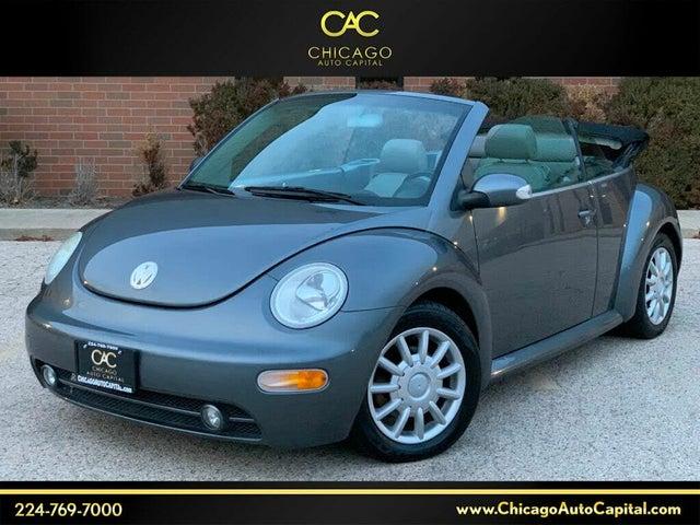 2004 Volkswagen Beetle GLS 2.0L Convertible