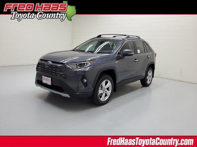 2021 Toyota RAV4 Hybrid Limited AWD