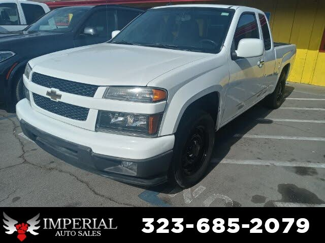 2012 Chevrolet Colorado Work Truck Extended Cab RWD