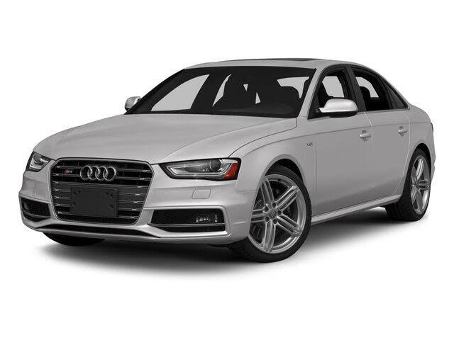 2015 Audi S4 3.0T quattro Premium Plus Sedan AWD