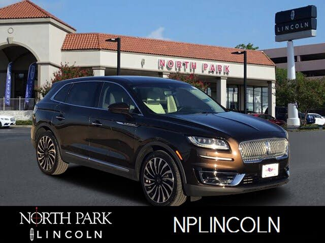 2019 Lincoln Nautilus Black Label FWD