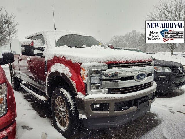 2019 Ford F-350 Super Duty King Ranch Crew Cab LB 4WD