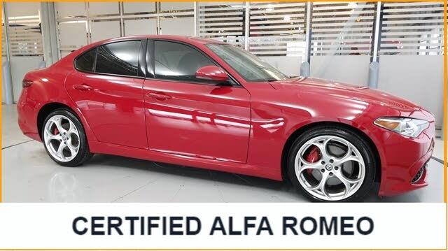 2019 Alfa Romeo Giulia Ti Sport AWD