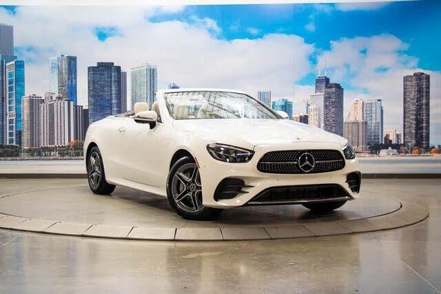 2021 Mercedes-Benz E-Class E 450 4MATIC Cabriolet AWD