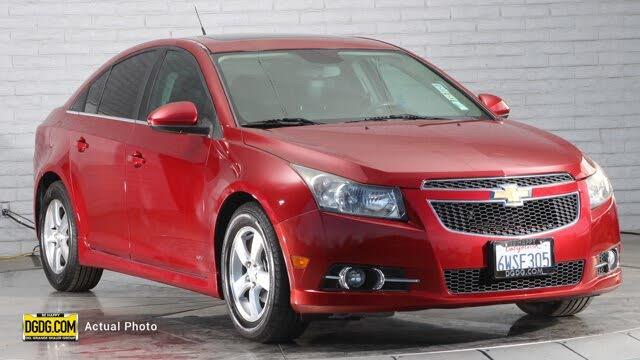 2012 Chevrolet Cruze 1LT Sedan FWD