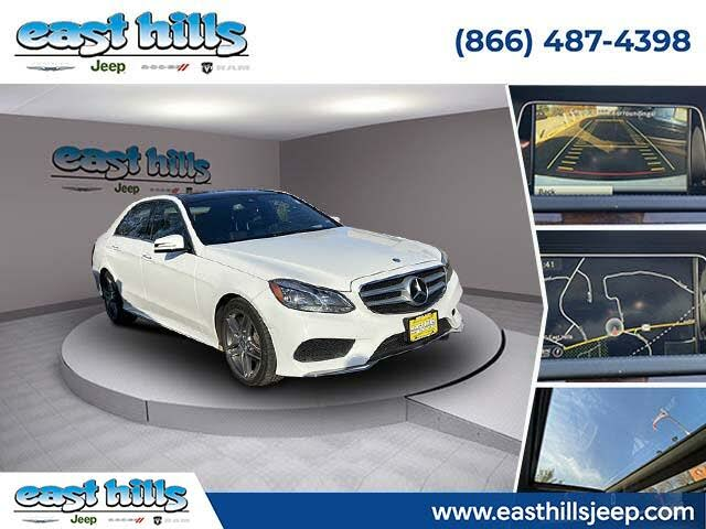 2015 Mercedes-Benz E-Class E 400 4MATIC Sedan AWD
