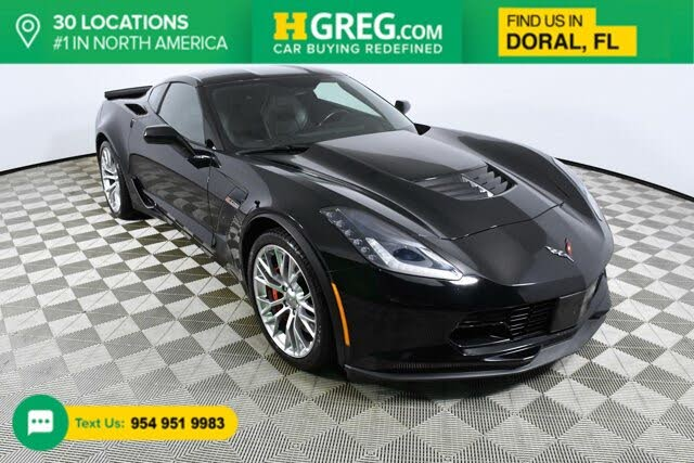 2016 Chevrolet Corvette Z06 1LZ Coupe RWD