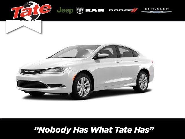 2016 Chrysler 200 Limited Platinum Sedan FWD