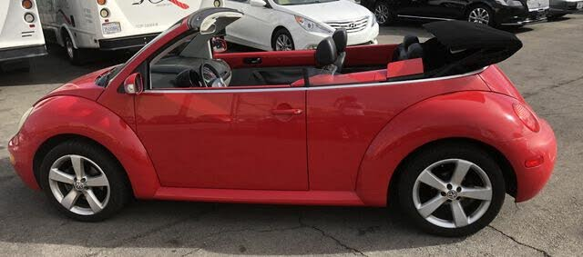 2004 Volkswagen Beetle GLS 1.8L Convertible