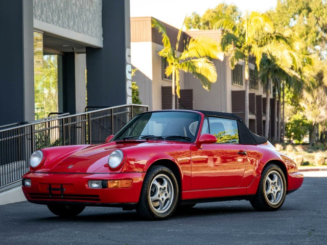1992 Porsche 911 Carrera Convertible