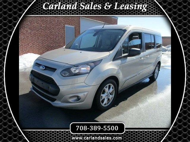 2014 Ford Transit Connect Wagon XLT LWB FWD with Rear Liftgate