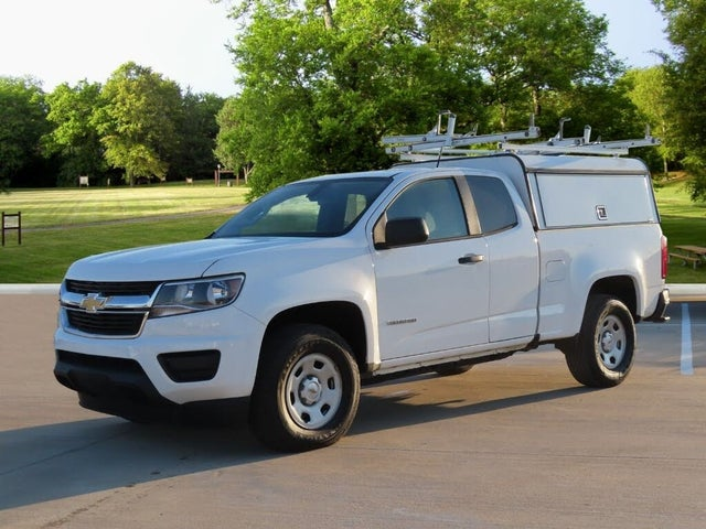 2017 Chevrolet Colorado Work Truck Extended Cab LB 4WD