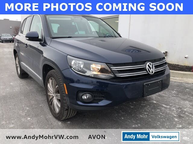 2013 Volkswagen Tiguan SE with Sunroof and Navigation