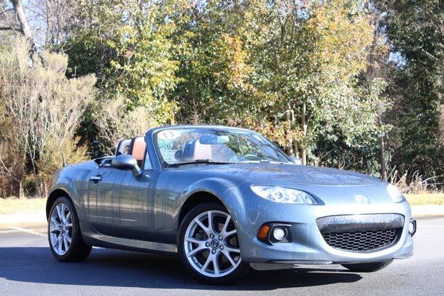2013 Mazda MX-5 Miata Grand Touring Convertible with Retractable Hardtop