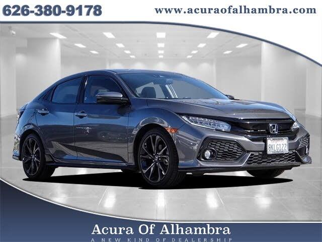 2019 Honda Civic Hatchback Sport Touring FWD