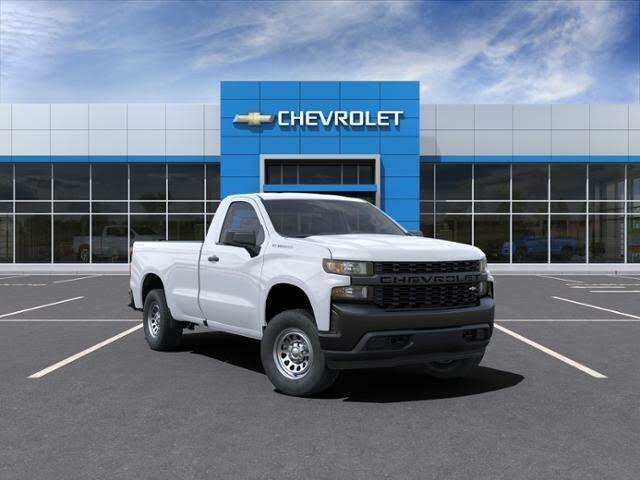 2021 Chevrolet Silverado 1500 Work Truck 4WD