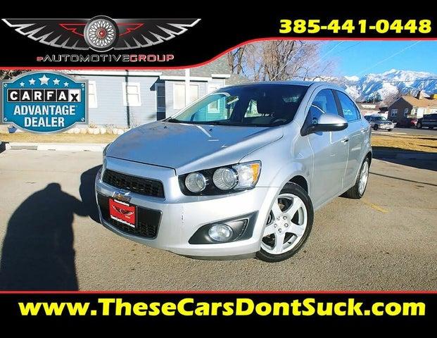 2012 Chevrolet Sonic LTZ 2LZ Sedan FWD