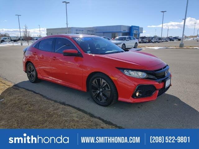 2018 Honda Civic Hatchback EX FWD with Honda Sensing