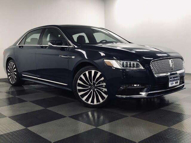2019 Lincoln Continental Black Label AWD