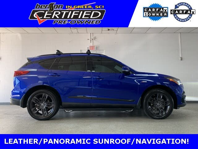 2021 Acura RDX SH-AWD with A-Spec Package