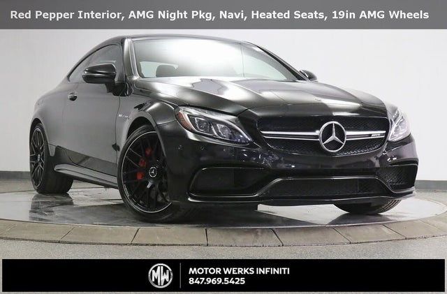 2017 Mercedes-Benz C-Class C AMG 63 S Coupe